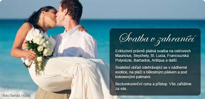 Proč svatba v zahraničí s naší svatební agenturou?