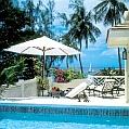 Líbánky na Barbadosu v Coral Reef Club