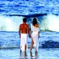 Líbánky na Bora Bora v Intercontinental Le Moana
