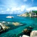 Líbánky na Seychelách v New Emerald Cove